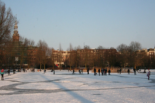 Amsterdam Ice - Oosterpark Scene