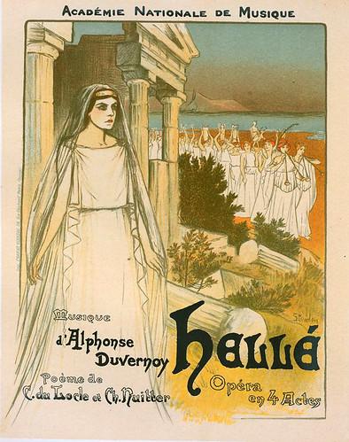 005-Affiche pour l'opéra Hellé, représenté au Théâtre national de l'Opéra (1896-1900)-NYPL