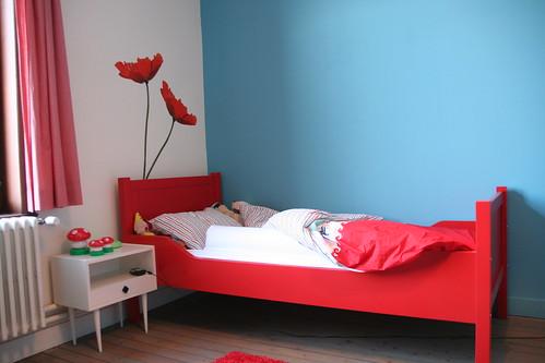 Het grote bed.