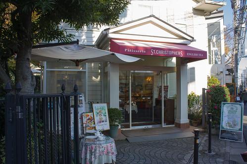 花園旁邊還有個紅茶小商店