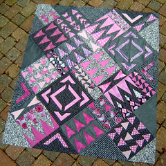 Radiant Orchid Quilt Top