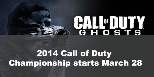 2014 Call of Duty Championship starts March 28