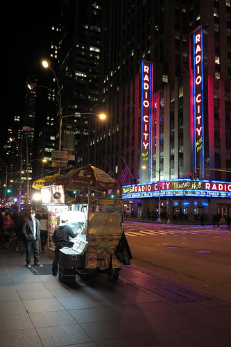 Late Night at the Food Cart