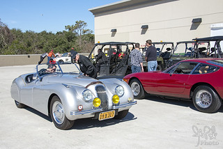 1949 Jaguar XK120 Alloy Roadster at Amelia Island 2014