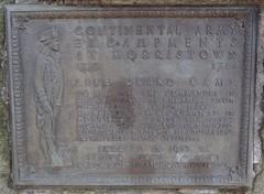 Historical Marker Morristown, NJ