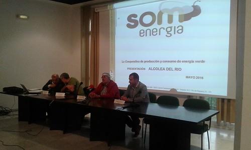 Inaguración planta solar fotovoltaica de Alcolea del Rio, Sevilla (Proyecto Generation kWh) Som Energia