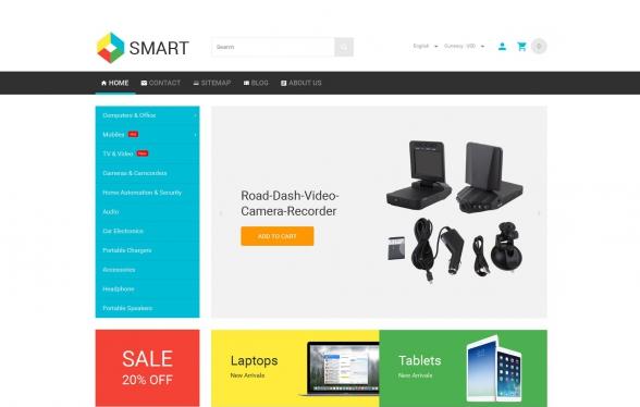 Smart v1.0 - PrestaShop 1.6.1.2 Theme