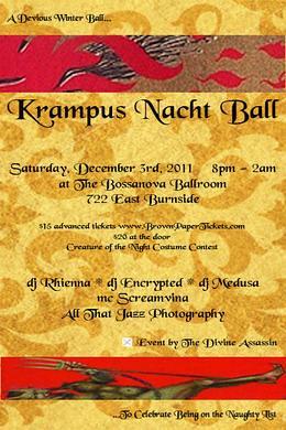 Krampus Nacht Ball @ Bossanova Ballroom