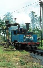 * Indonesien  Dampfloks # 4  PJKA  New Scan