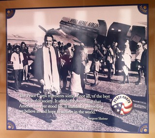 Poster at Peace Corps Office
