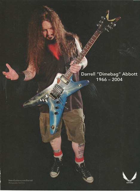 Dimebag Memorial Ad - Dean Guitars
