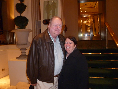 Mom and Dad at the Waldorf