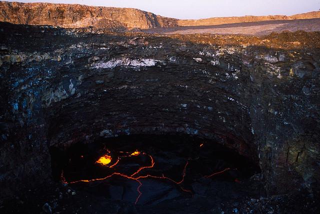 África volcán