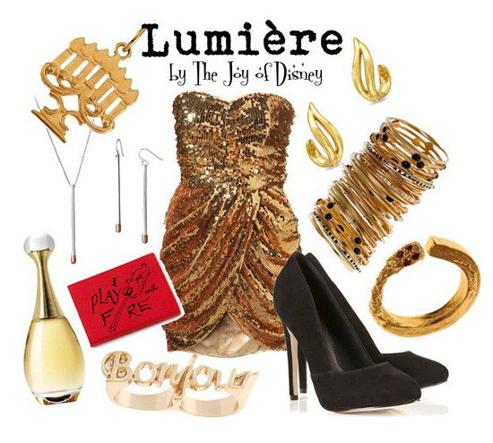 Inspired by: Lumiere -- Beauty & the Beast