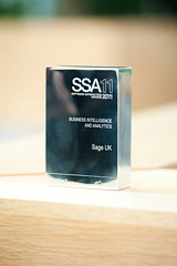 Sage 200 wins best business intelligence award at the Software Satisfaction Awards 2011