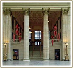 Christmas as Chicago Union Station