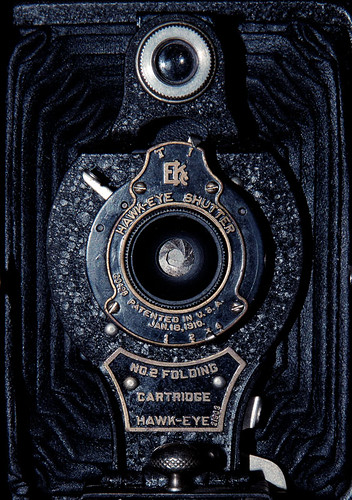 365 Day 335: Mixed Week 16: Kodak Hawkeye No.2 Folding Camera 2 by ★ 0091436 ★