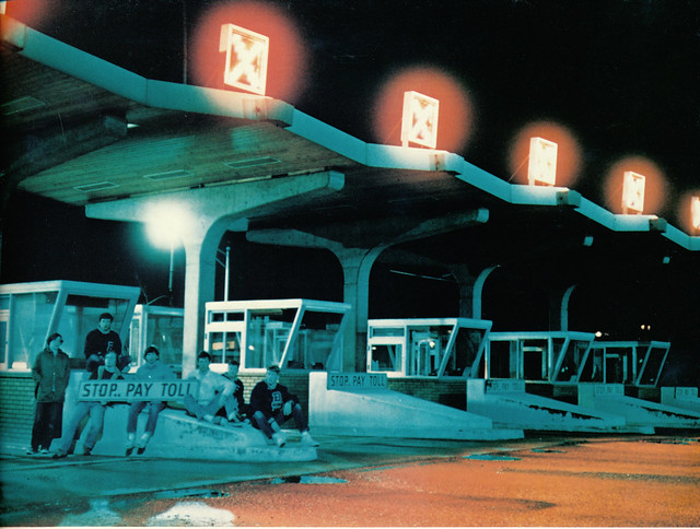 Toll Booths at State Route 520 - Medina WA, 1971