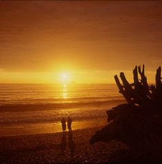 Sunset at Rialto Beach - II. ~ Olympic National Park,WA