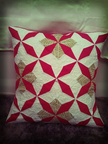 A finished pillow for you!