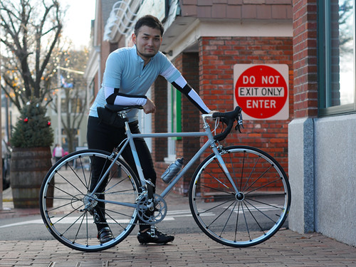 Nao Tomii and His Bicycle, Lexington MA