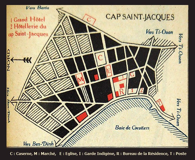 Bản đồ VŨNG TÀU 1930