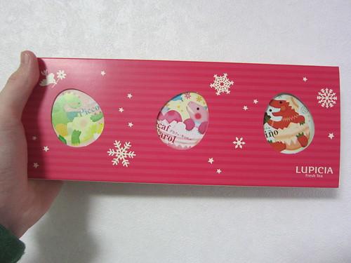 ルピシアお茶セットクリスマスバージョン