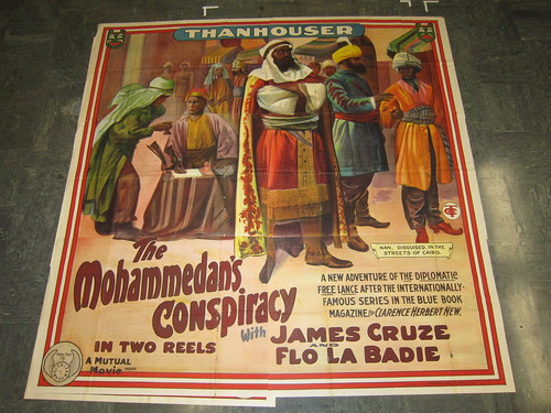 The Mohammedan's Conspiracy poster-version 3
