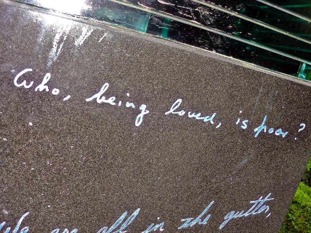 Oscar Wilde Quotes at Merrion Square Park - Dublin, Ireland.