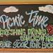 PicnicTimeChalkboard