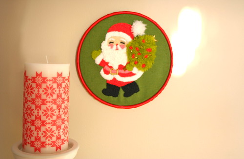 Santa Embroidery