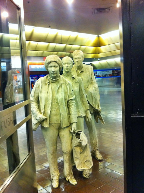 "Port Authority: George Segal's ""The Commuters"" (1980)"