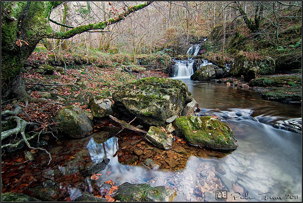 Cascadas de Viaña - Cabuérniga - otro salto doble