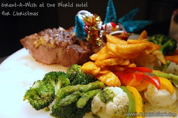 One World Hotel - Christmas dinner
