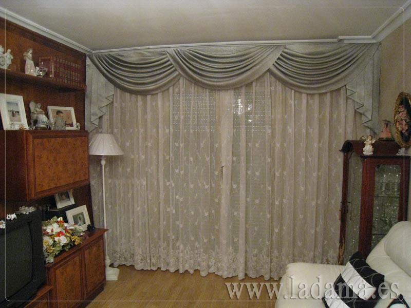 decoracin para salones clsicos cortinas con dobles cortinas y bandos tapiceras paneles japoneses with estores para salon