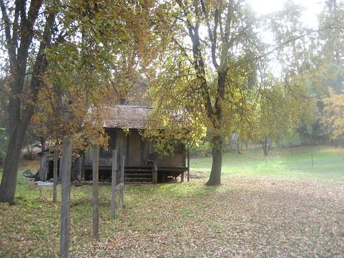the barn in fall