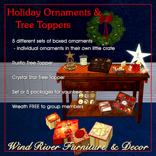 Holiday Ornaments & Tree Toppers by Teal Freenote