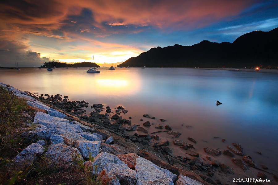 Sunset in Pantai Kok, Langkawi