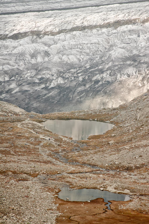 Suiza - Las montañas - Glaciar Alestch detalle 6