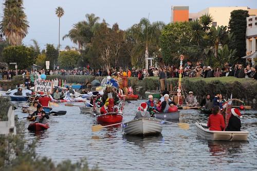 Venice Canals Holiday Boat Parade 066