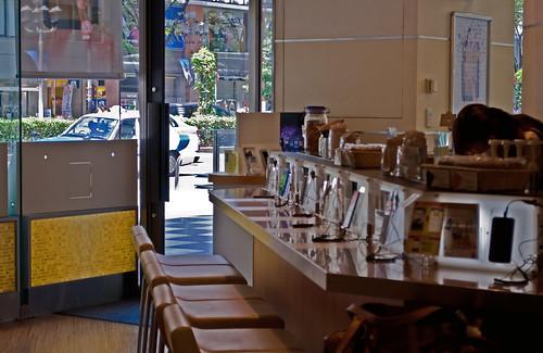 Interior del SmartPhone Cafe