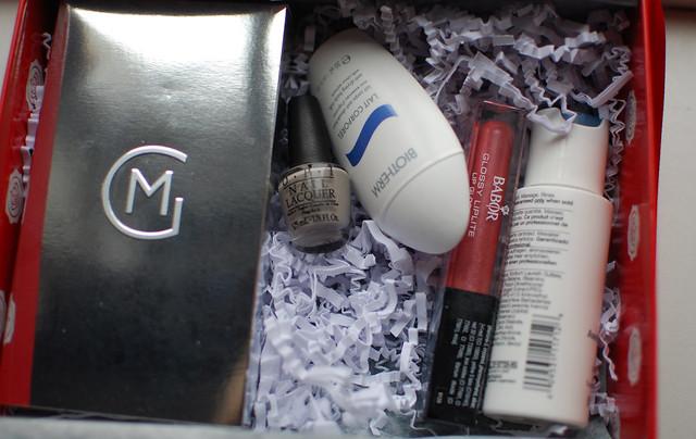 Glossybox Produkte