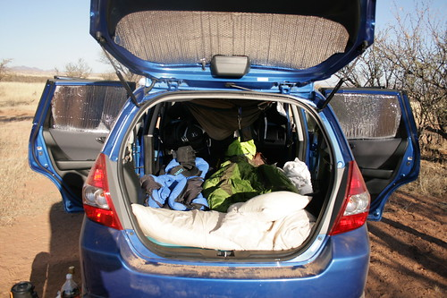 Report this image & Camping in your Honda Fit - Honda Fit Forum : Honda Fit Forums