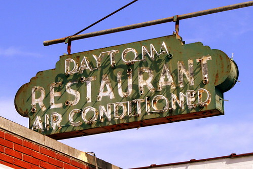 Daytona Restaurant neon sign - Dayton, TN