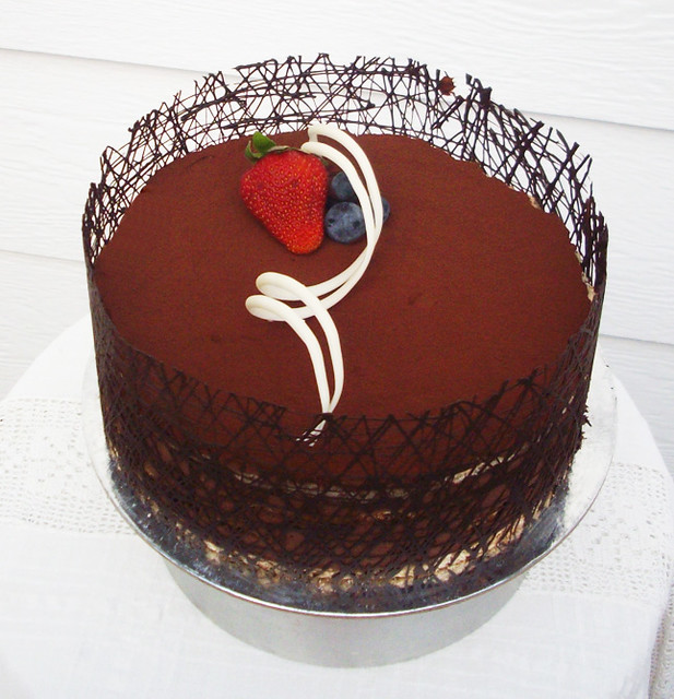 Chocolate Ganache Cake | Flickr - Photo Sharing!