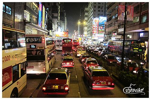 busy HK street