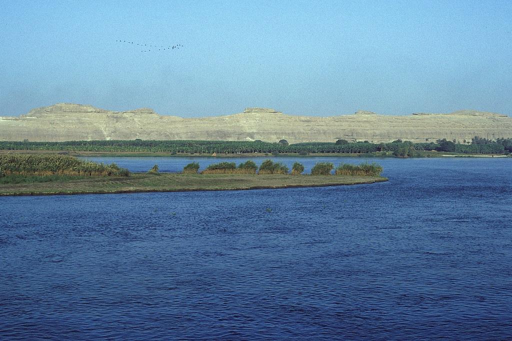 The Nile at El-Minya, Egypt