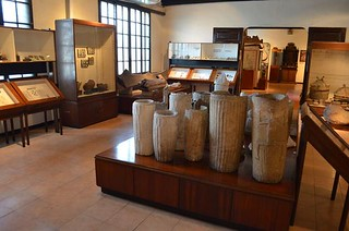 inside San Carlos University Museum in Cebu City in Philippines