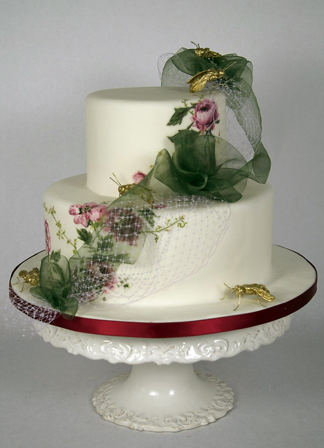 wedding cakes toronto ontario painted wedding cake toronto flickr photo 25745