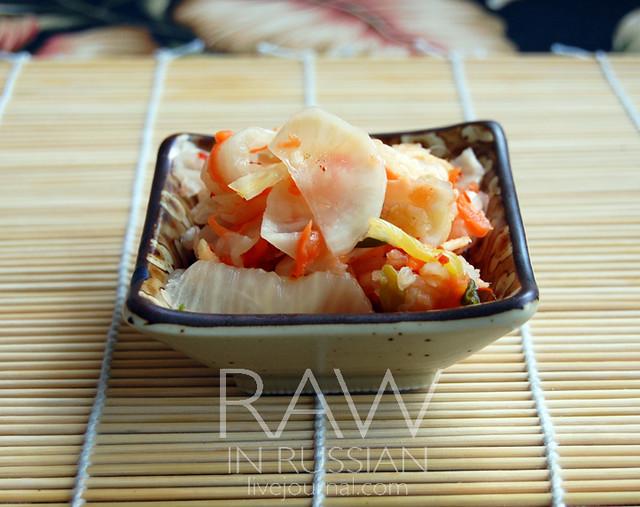 Radish kim chee